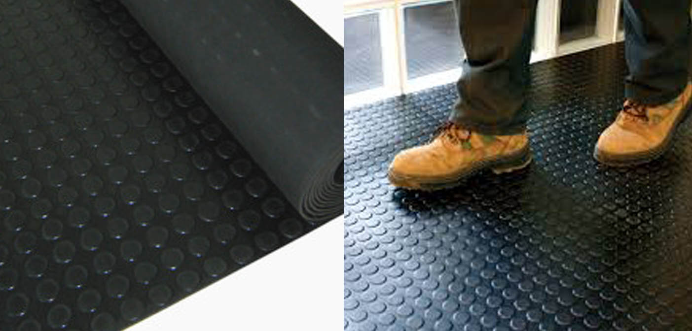 Rubber Studded Tiles